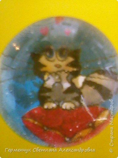 """Аппликацию на стеклянных камешках  придумала и выполнила  Катя К Людмила Витальева написала стихотворение """"Капля воды"""" Капля воды на раскрытой ладошке,в ней отражается небо немножко, фото 8"""