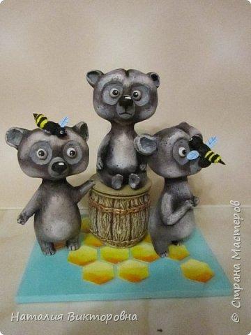 Вот такие сладкоежки- или еноты, или медведи , главное любят мед! фото 6
