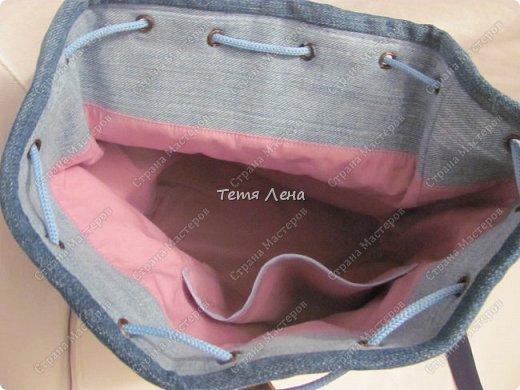 Рюкзачок (для танцовщицы) фото 3