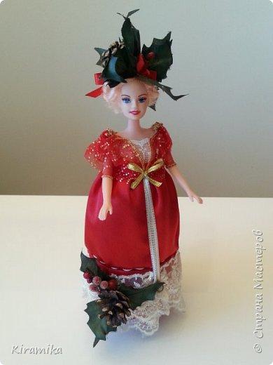 Кукла-шкатулка «Рождественские празднества » фото 1