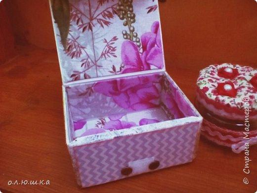 Решила сделать коробочку и баночку для хранения мелочей. фото 2