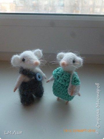 Валяние мыши фото 2