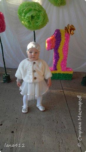 моей внучке исполнился годик!!!!!! ураааа! фото 1