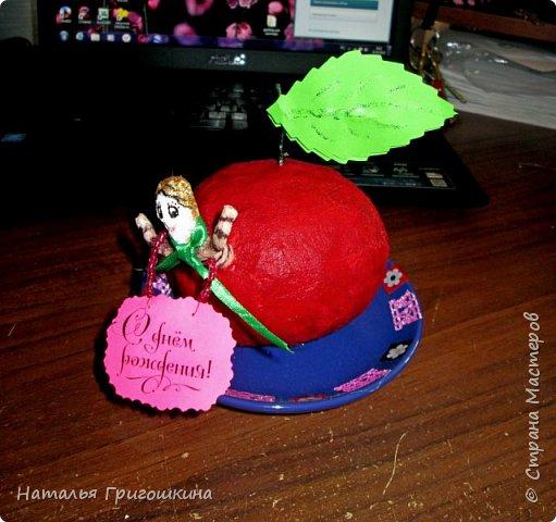 Яблоко на блюдечке фото 1