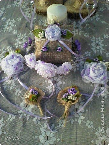 Свадебный набор из 17 предметов фото 8