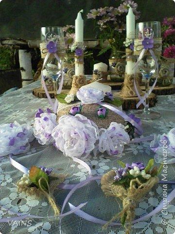 Свадебный набор из 17 предметов фото 1