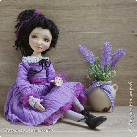 Интерьерная кукла Фиона выполнена в смешанной технике. фото 1