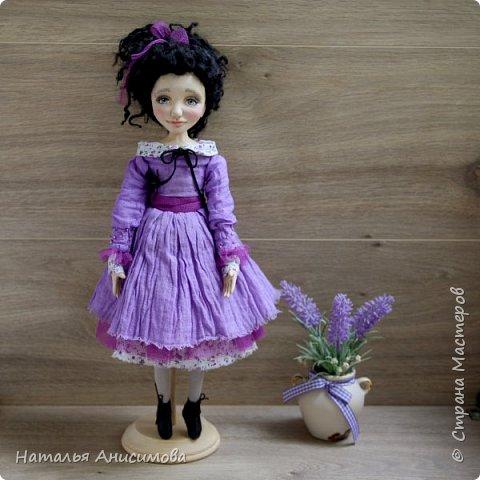 Интерьерная кукла Фиона выполнена в смешанной технике. фото 4