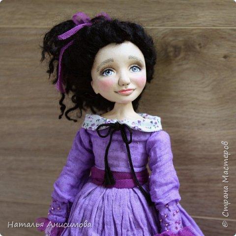 Интерьерная кукла Фиона выполнена в смешанной технике. фото 3