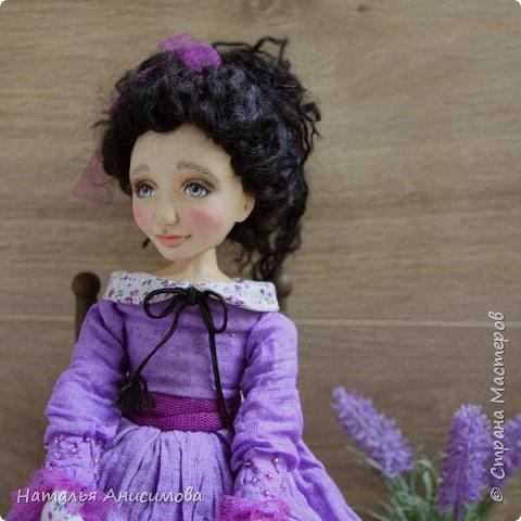 Интерьерная кукла Фиона выполнена в смешанной технике. фото 5
