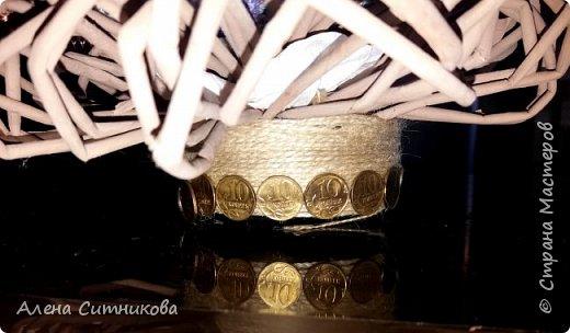 топиарий с монетами фото 3