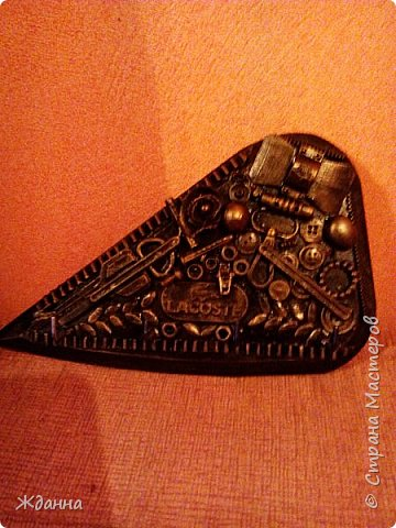 Соскучилась по черненькому. ))))))) Ключница для ключей от дома, где деньги лежат. фото 2