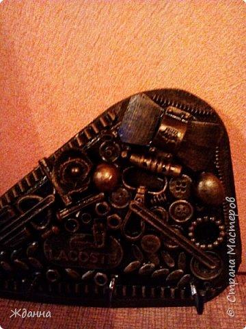 Соскучилась по черненькому. ))))))) Ключница для ключей от дома, где деньги лежат. фото 4