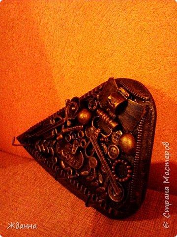 Соскучилась по черненькому. ))))))) Ключница для ключей от дома, где деньги лежат. фото 3