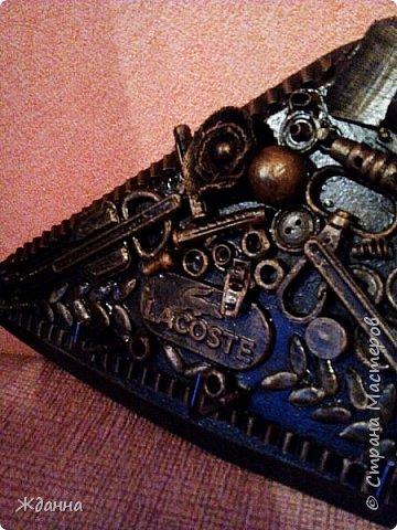 Соскучилась по черненькому. ))))))) Ключница для ключей от дома, где деньги лежат. фото 5