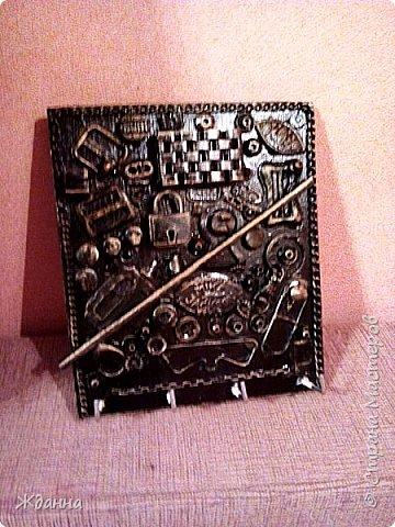 Соскучилась по черненькому. ))))))) Ключница для ключей от дома, где деньги лежат. фото 8