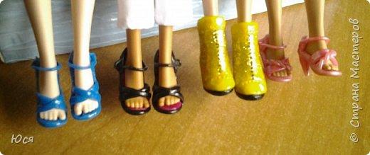 Туфельки на ножках кукол. фото 1