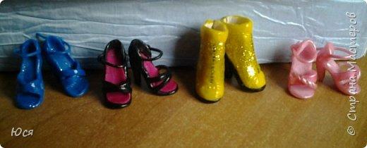 Туфельки на ножках кукол. фото 2