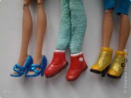 Туфельки на ножках кукол. фото 3