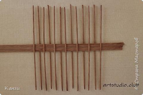 Здравствуйте, жители Страны мастеров. В своей записи http://stranamasterov.ru/node/847941 я обещала сделать мастер-класс по плетению такого башмака, как только мне понадобится его сплести. Время пришло. фото 2