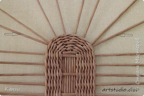 Здравствуйте, жители Страны мастеров. В своей записи http://stranamasterov.ru/node/847941 я обещала сделать мастер-класс по плетению такого башмака, как только мне понадобится его сплести. Время пришло. фото 5