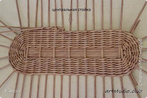 Здравствуйте, жители Страны мастеров. В своей записи http://stranamasterov.ru/node/847941 я обещала сделать мастер-класс по плетению такого башмака, как только мне понадобится его сплести. Время пришло. фото 6