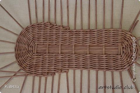 Здравствуйте, жители Страны мастеров. В своей записи http://stranamasterov.ru/node/847941 я обещала сделать мастер-класс по плетению такого башмака, как только мне понадобится его сплести. Время пришло. фото 7