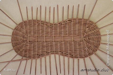 Здравствуйте, жители Страны мастеров. В своей записи http://stranamasterov.ru/node/847941 я обещала сделать мастер-класс по плетению такого башмака, как только мне понадобится его сплести. Время пришло. фото 8