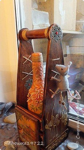 Добрый день, Моя любимая, Страна Мастеров. Вот сделался подарок подружке Галочке. Просила она в Японском стиле и мышку. Пришлось думать. фото 26