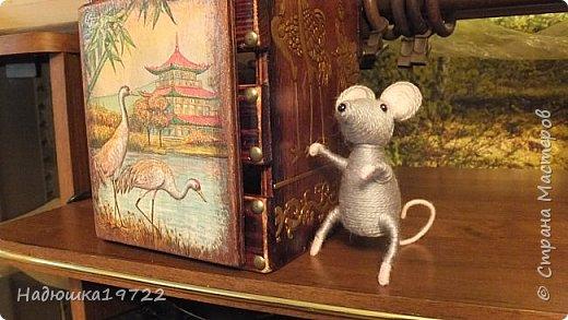 Добрый день, Моя любимая, Страна Мастеров. Вот сделался подарок подружке Галочке. Просила она в Японском стиле и мышку. Пришлось думать. фото 29