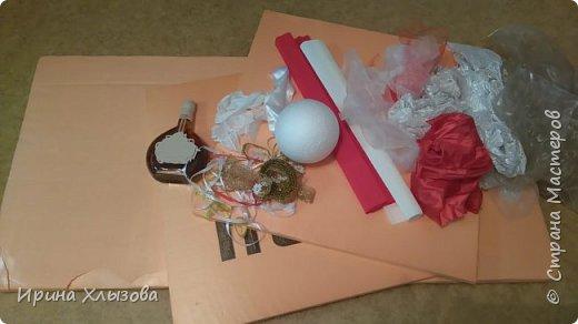 Не давала мне покоя эта идея) У мастериц видела и ждала подходящего момента сделать такую же  http://stranamasterov.ru/node/823112?c=favorite И вот подвернулся мужской день рождения и вуаля моя Мадам: фото 2