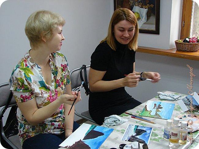 Добрый вечер! В прошлое воскресенье я принимала участие в мастр-классе по масляной живописи фото 2
