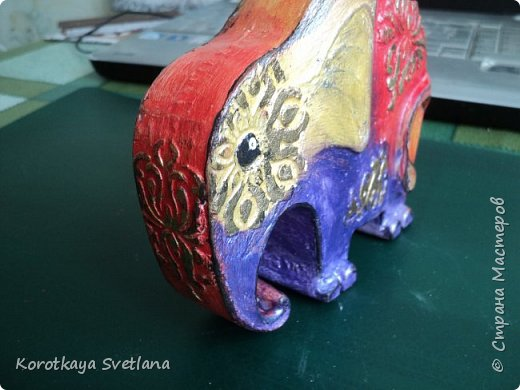 Приветствую жителей Страны мастеров! Вот такие слоники отлитые из гипса у меня появились благодаря Литвиновой Наташе. Наташенька, благодарю за идею. Твои слоники бесподобны! Я тоже старалась и вот что вышло. фото 6