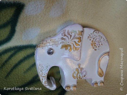 Приветствую жителей Страны мастеров! Вот такие слоники отлитые из гипса у меня появились благодаря Литвиновой Наташе. Наташенька, благодарю за идею. Твои слоники бесподобны! Я тоже старалась и вот что вышло. фото 9