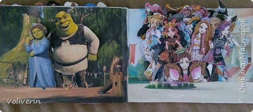 И снова бумажное, эти домики я сделала давно, для своей коллекции бумажных кукол, которых у меня ну очень много. Люблю я их... Сразу скажу многие фоны я срисовывала, например тот что ниже, срисован с домика феи Ромашки. Всего два альбома, один страшный потому, что не старалась и раскрасила восковыми карандашами, второй мне нравится, начну со второго альбома. И ещё в нем на каждой страничке спрятано много божих коровок, в некоторых комнатах есть секретики. Эти домики я тоже снимала на видео, одно из них https://youtu.be/Gug1cgWP7wE страшный дом и одежду я тоже снимала, но ссылку лень искать)))) кукол, пока заскок не прошёл, продолжаю печатать и рисовать им места обитания, очень надеюсь, что это все пригодится дочке. фото 20