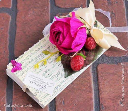 """Всем привет! Показываю свои работы ко Дню учителя. Журнал создавался для молодой учительницы начальных классов. В розах 6 конфет """"Осенний вальс"""" и 5 """"Марсианка"""" три шоколада. фото 6"""