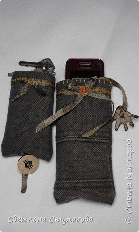 Чехлы для телефонов и ключницы. фото 8