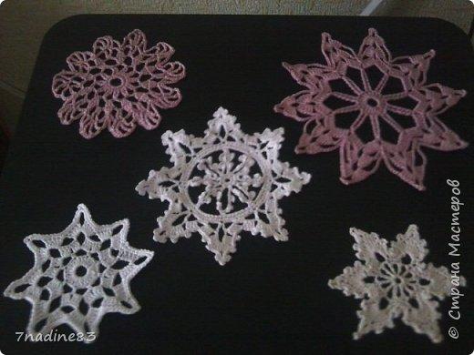 Изящные милые снежинки фото 1