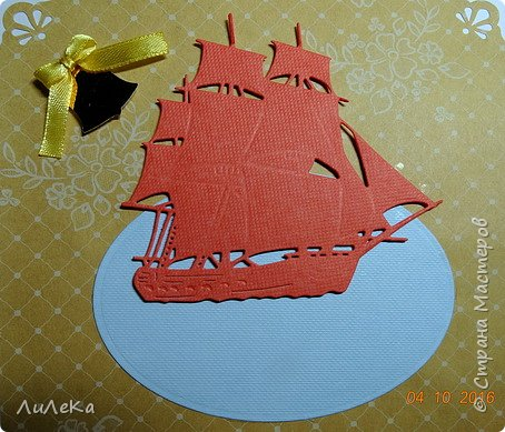 Эта открытка-папка полностью моя задумка. Пеликан заботливо раскрыл свои крылья, оберегая птенцов... фото 7