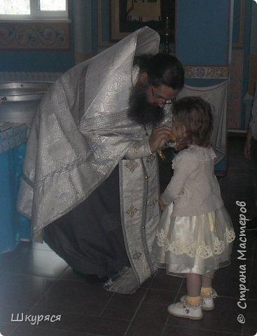 У внучки Виктории было крещение и я ей сделала Икону Пресвятой Богородицы Семистрельной в алмазной технике  прикупила рамку хочу остатками страз ее украсить и освятить в Храме и подарок готов фото 5