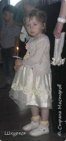 У внучки Виктории было крещение и я ей сделала Икону Пресвятой Богородицы Семистрельной в алмазной технике  прикупила рамку хочу остатками страз ее украсить и освятить в Храме и подарок готов фото 2