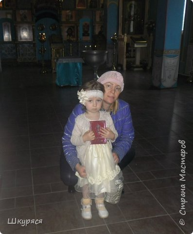 У внучки Виктории было крещение и я ей сделала Икону Пресвятой Богородицы Семистрельной в алмазной технике  прикупила рамку хочу остатками страз ее украсить и освятить в Храме и подарок готов фото 3