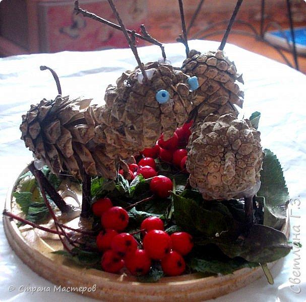 Вот таких животных (не то олени,не то лоси) ,сотворили мы с внучкой Дашулей в садик. фото 1