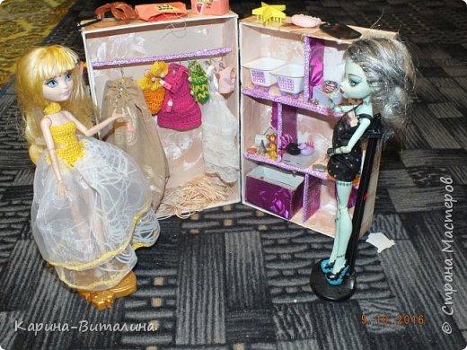 Вот такой магазин я придумала для своих монстряшек (Карина 10 лет). фото 1