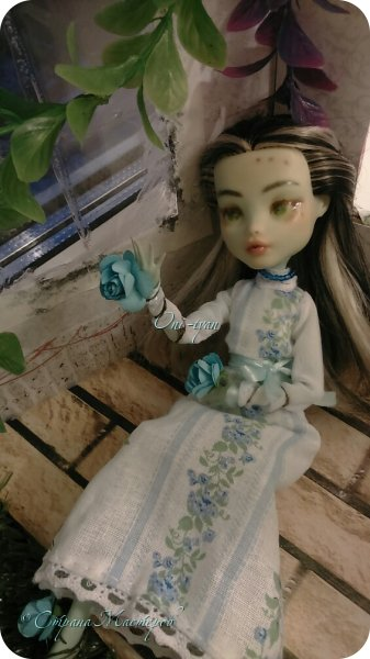 """Это 2 работа на этот конкурс.  В этот раз Ферри у меня """"королева"""" роз, все к чему она прикоснется оплетается розами>~< фото 6"""