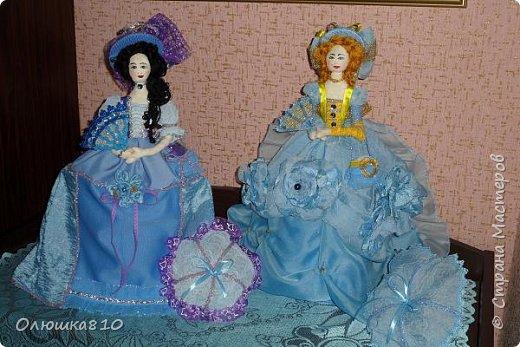 Леди в голубом (куклы-шкатулки) фото 1