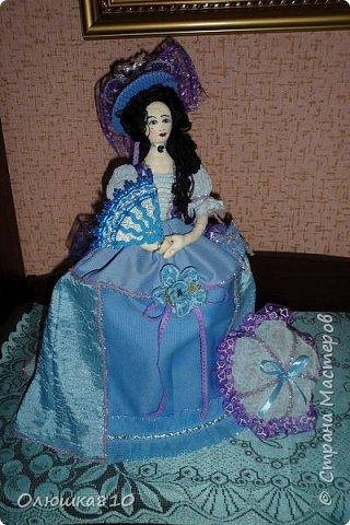 Леди в голубом (куклы-шкатулки) фото 2