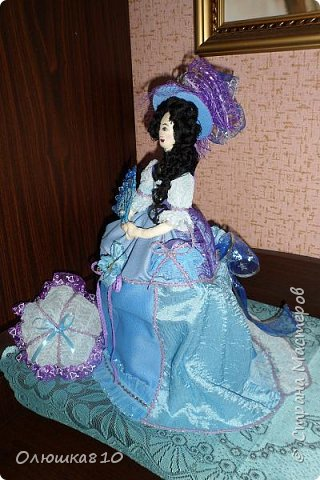 Леди в голубом (куклы-шкатулки) фото 3
