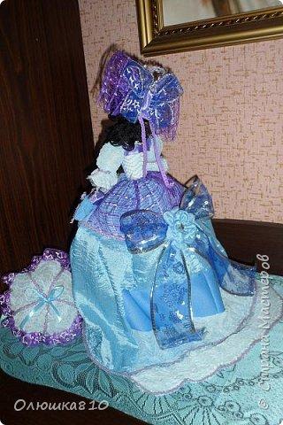 Леди в голубом (куклы-шкатулки) фото 4