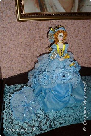 Леди в голубом (куклы-шкатулки) фото 6